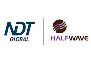 NDT Global and Halfwave logos